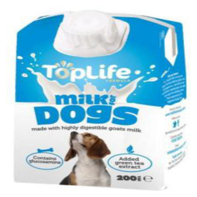 Toplife Goats Milk For Dog 200ml [DCse 18]