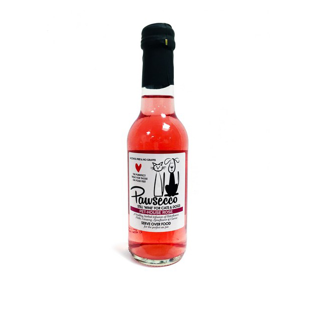 Woof & Brew Pawsecco Pethouse Rose 250ml
