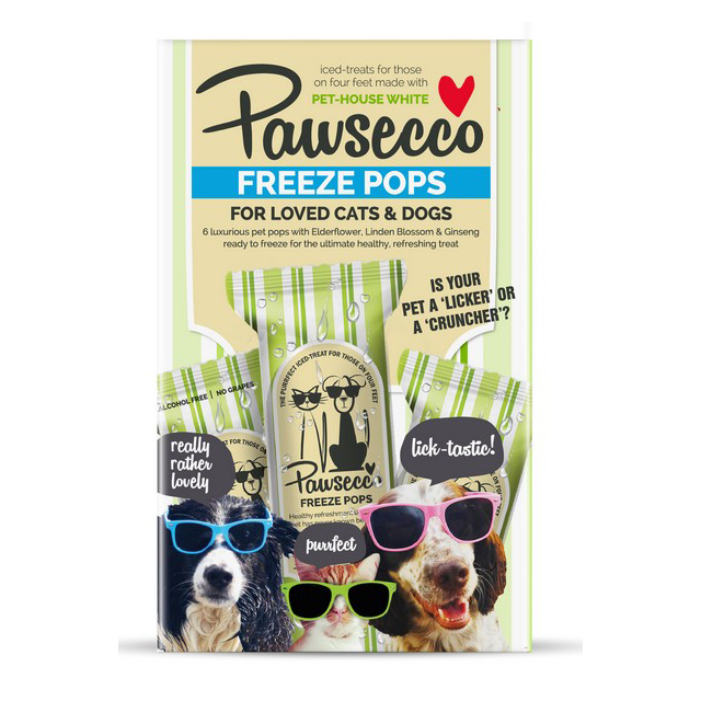 Woof & Brew Pawsecco Freeze Pops For Dogs & Cats 6x50ml