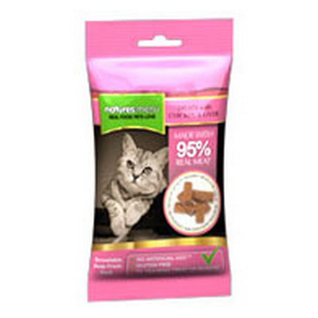 Natures Menu Cat Treats Chicken and Liver 60g [DCse 12]