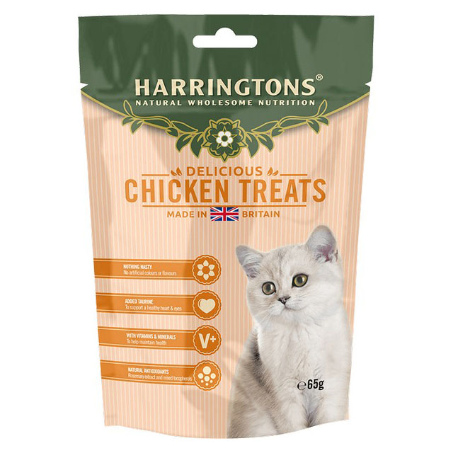 Harringtons Cat Treats With Chicken 65g [DCse 12]