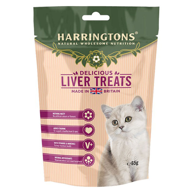 Harringtons Cat Treats With Liver 65g [DCse 12]