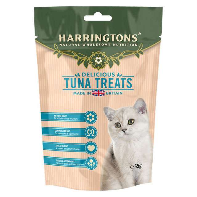 Harringtons Cat Treats With Tuna 65g [DCse 12]
