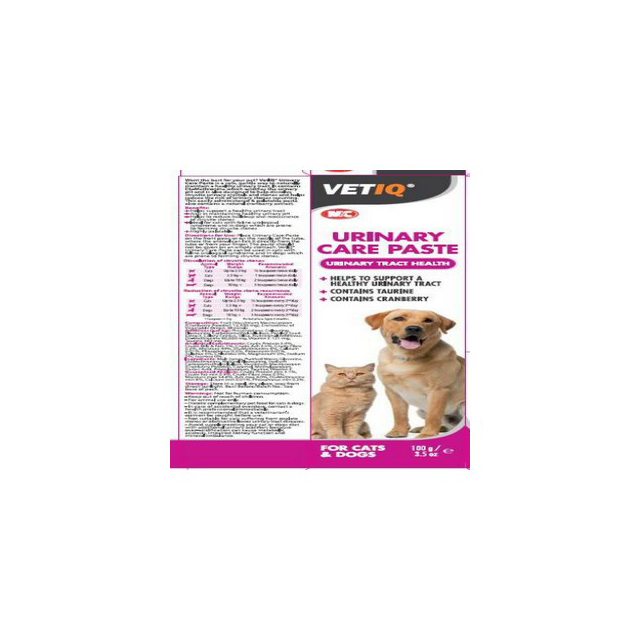 M & C Vet IQ Urinary Care Paste For Cats & Dogs 100g
