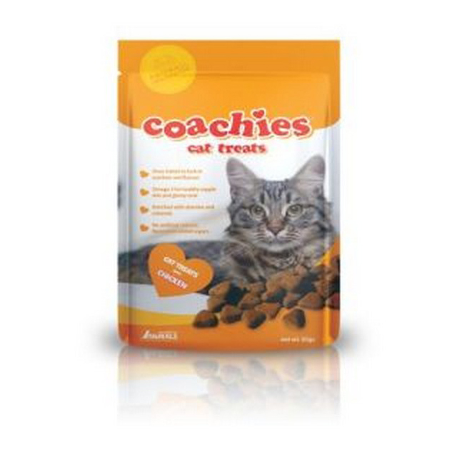 CoA Coachies Cat Treats Chicken 65g [DCse 12]