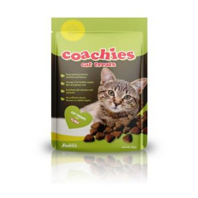 CoA Coachies Cat Treats Tuna 65g [DCse 12]