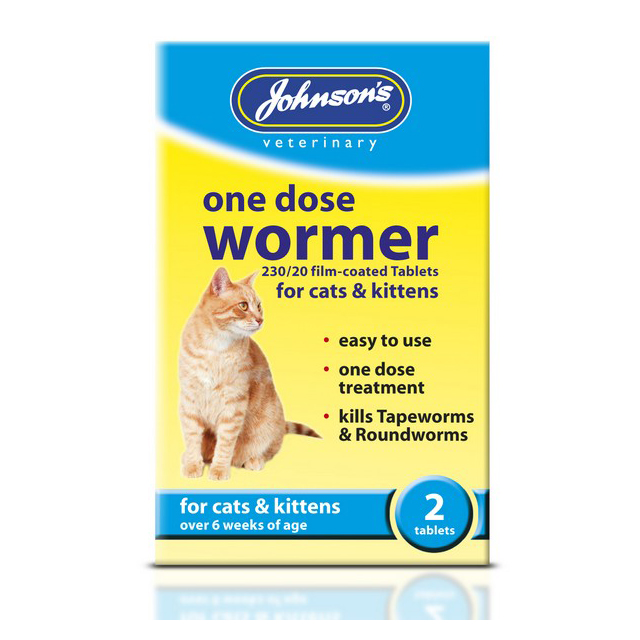 JVP Easy One Dose Wormer For Cats