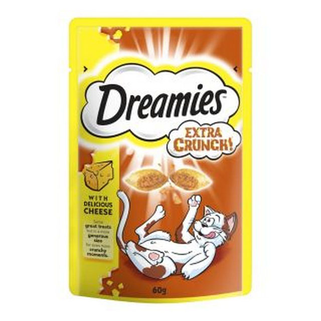 Dreamies Extra Crunch Cheese 60g [DCse 8]