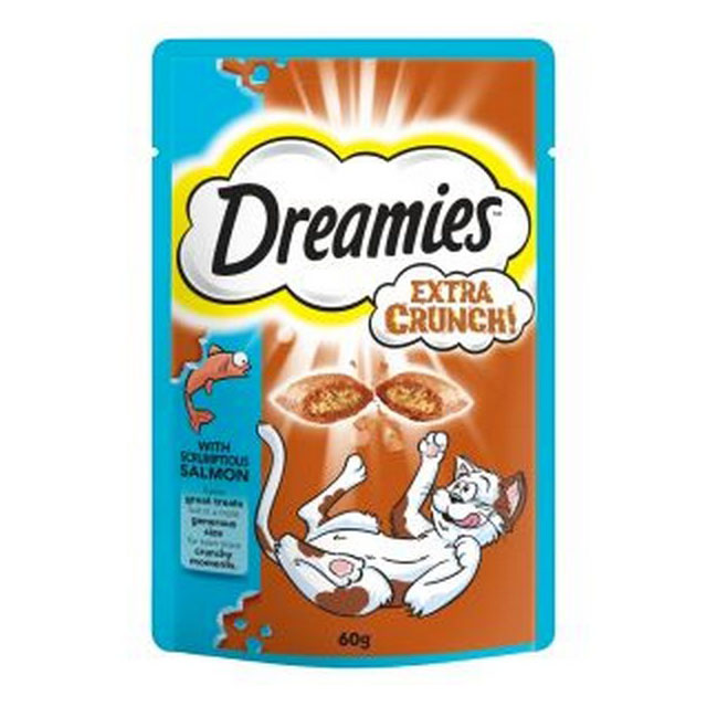 Dreamies Extra Crunch Salmon 60g [DCse 8]