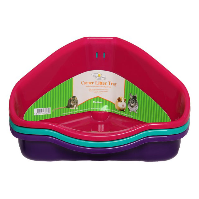 Harrisons Small Animal Corner Litter Tray 34cm