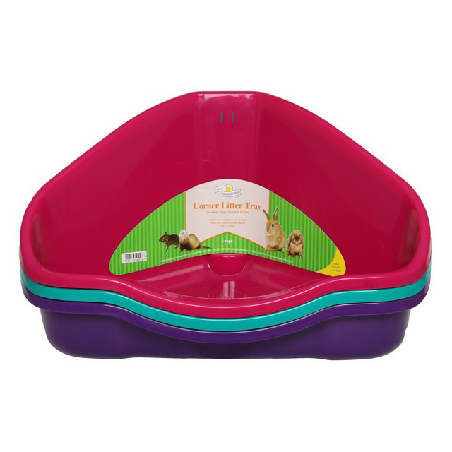 Harrisons Small Animal Corner Litter Tray 49cm