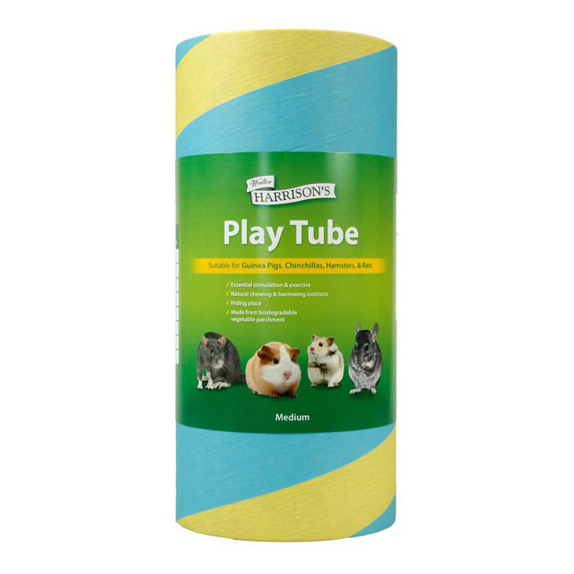 Harrisons Small Animal Play Tube Medium 100mm